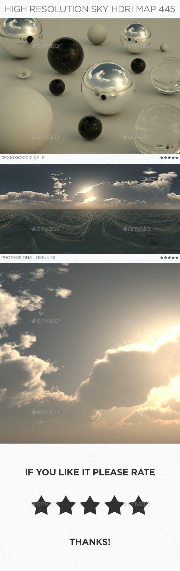 High Resolution Sky HDRi Map 445 - 3DOcean Item for Sale