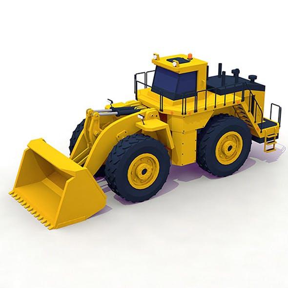 Wheel Loader - 3DOcean Item for Sale