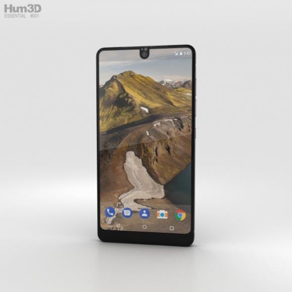Essential Phone Black Moon - 3DOcean Item for Sale