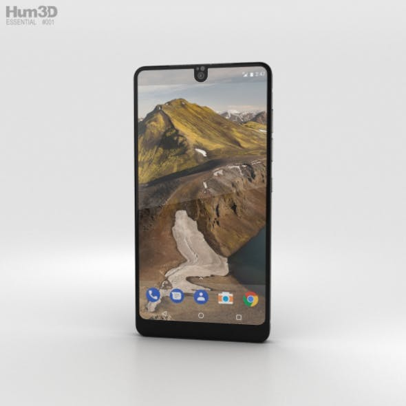 Essential Phone Black Moon