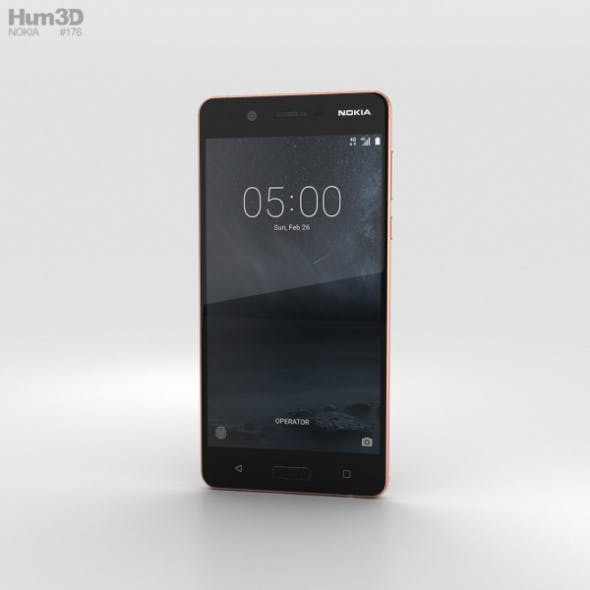 Nokia 5 Copper - 3DOcean Item for Sale