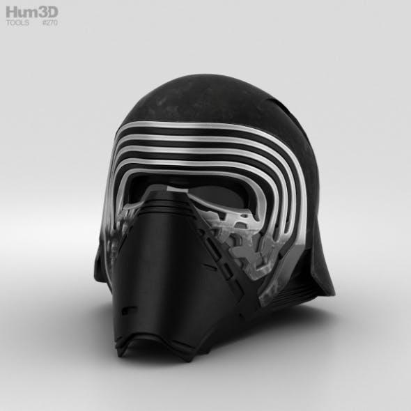 Kylo Ren Helmet - 3DOcean Item for Sale