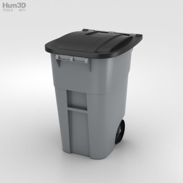 Garbage Container - 3DOcean Item for Sale