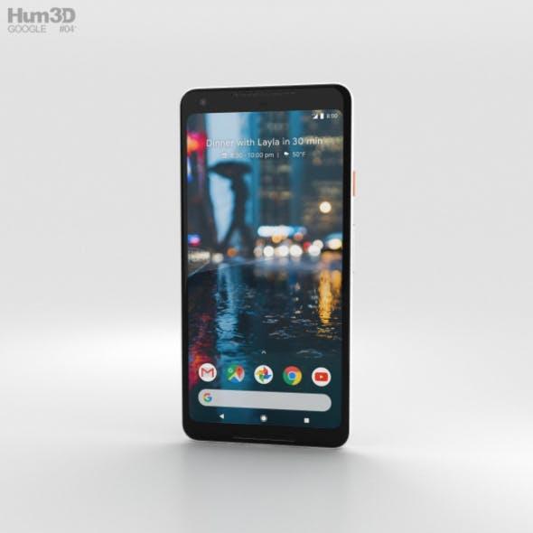 Google Pixel 2 XL Black & White
