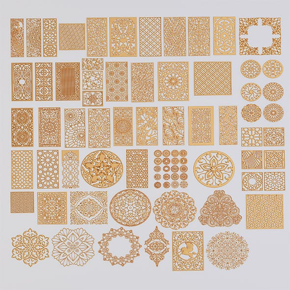 set of patterns 83 pieces - 3DOcean Item for Sale