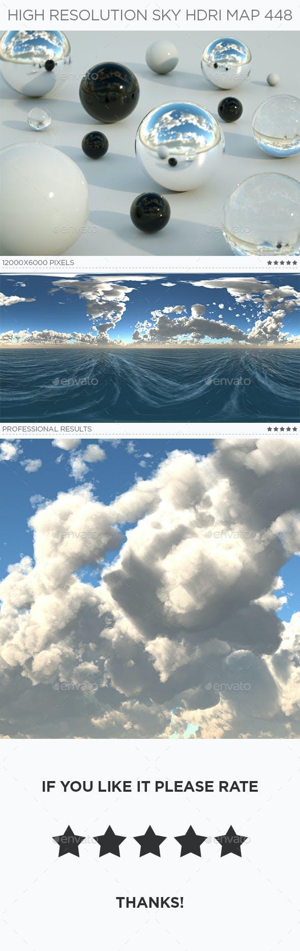 High Resolution Sky HDRi Map 448 - 3DOcean Item for Sale
