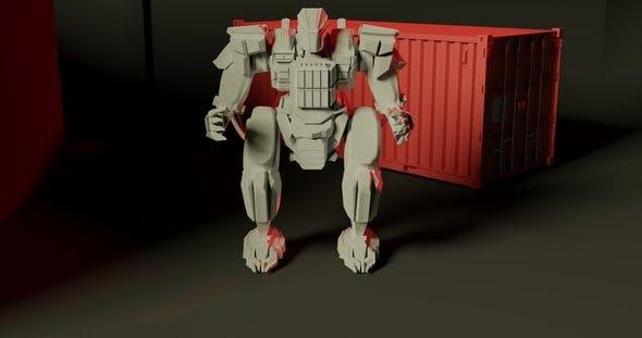 Robot mech - 3DOcean Item for Sale