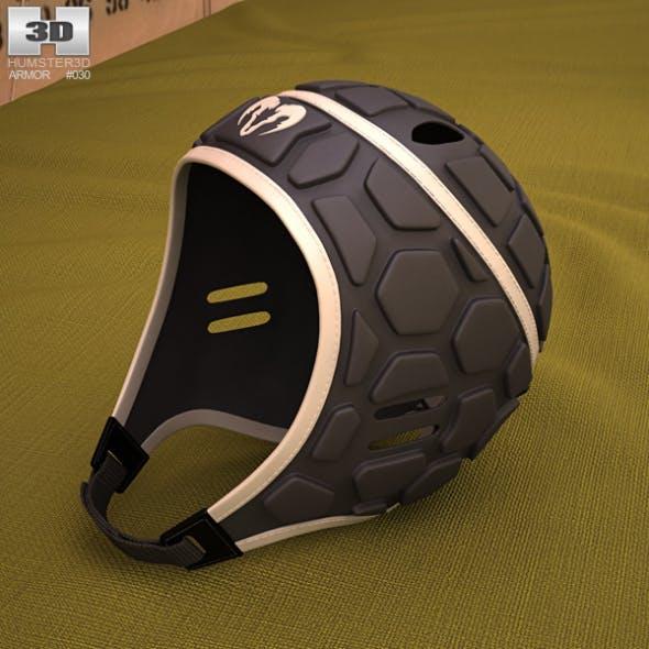 Ram Rugby Helmet - 3DOcean Item for Sale