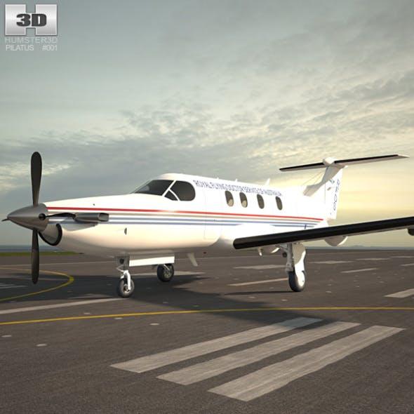 Pilatus PC-12 - 3DOcean Item for Sale