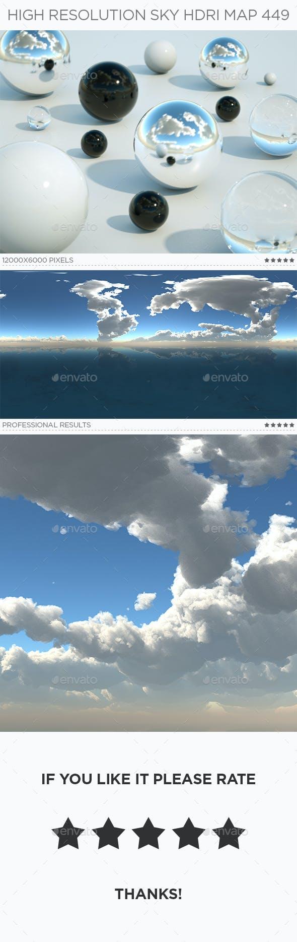 High Resolution Sky HDRi Map 449 - 3DOcean Item for Sale