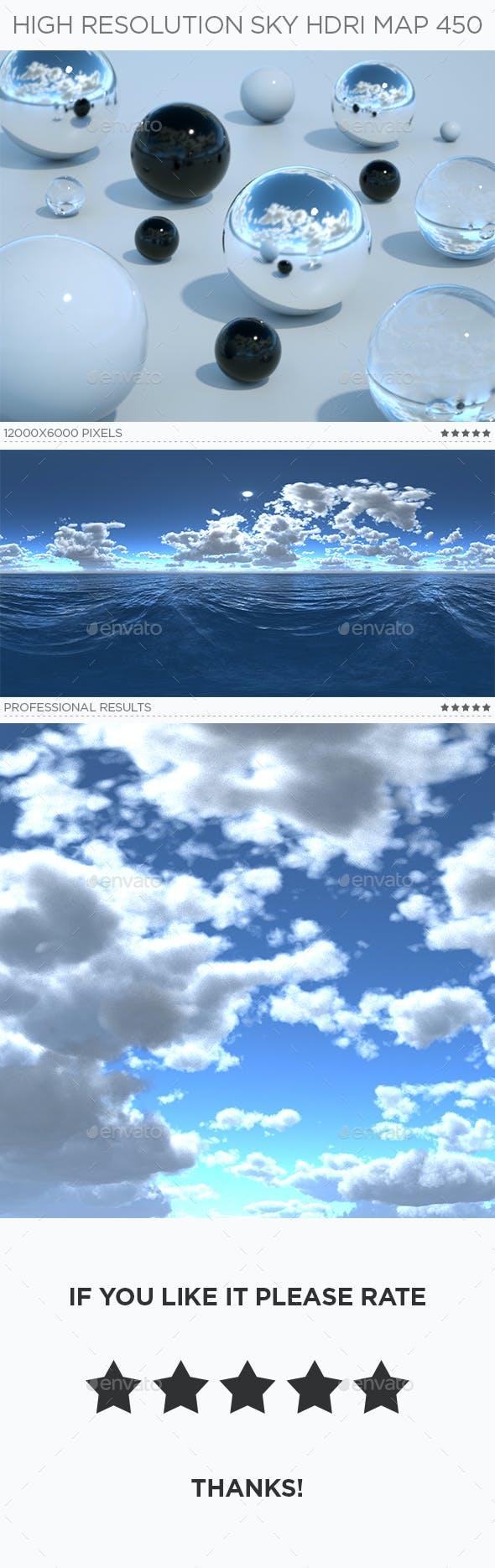 High Resolution Sky HDRi Map 450 - 3DOcean Item for Sale