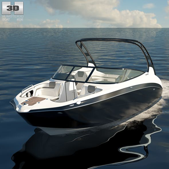Yamaha 242 Limited S - 3DOcean Item for Sale