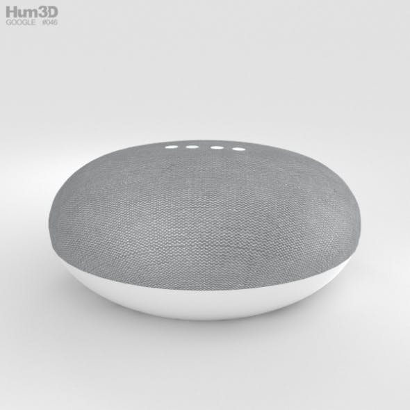 Google Home Mini Chalk - 3DOcean Item for Sale