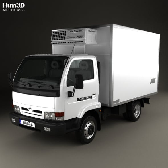 Nissan Cabstar E Box Truck 1998