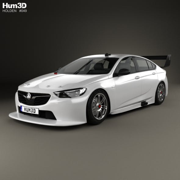 Holden Commodore Zb Supercar V8 2017: Holden Commodore (ZB) Supercar V8 2017 By Humster3d