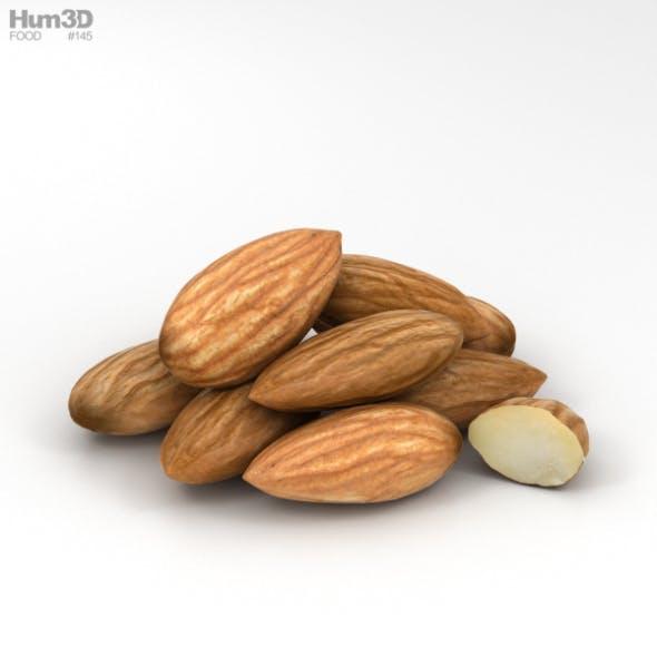 Almond - 3DOcean Item for Sale