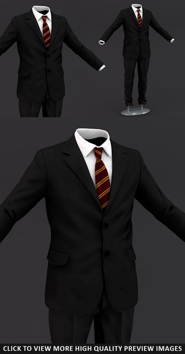 Men suit 3 - 3DOcean Item for Sale