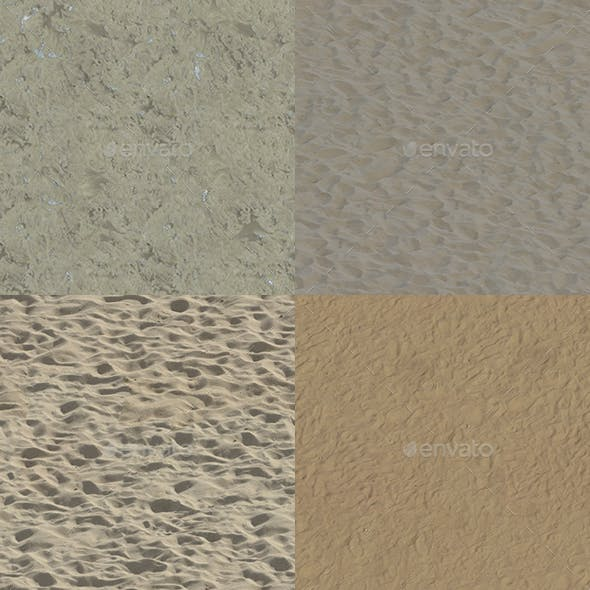 Set of 20 Various Sand Textures Volume 1