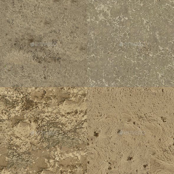 Set of 24 Various Sand Textures Volume 3