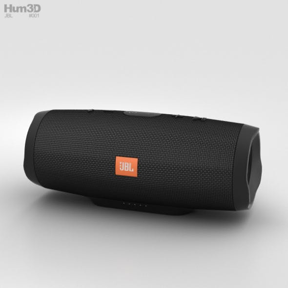 JBL Charge 3 Black - 3DOcean Item for Sale