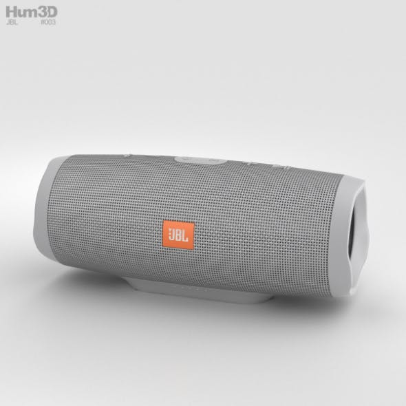 JBL Charge 3 Grey - 3DOcean Item for Sale