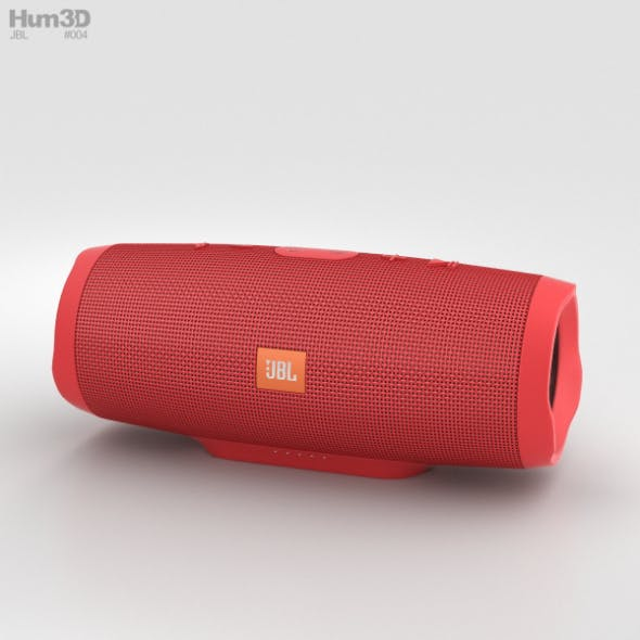 JBL Charge 3 Red - 3DOcean Item for Sale
