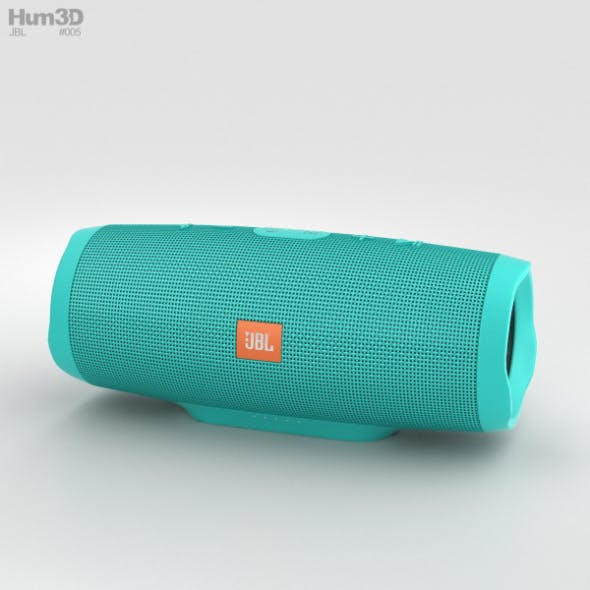 JBL Charge 3 Teal - 3DOcean Item for Sale
