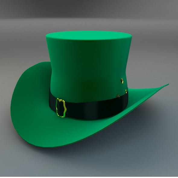 Hat Cylinder On The Feast Of St Patrick