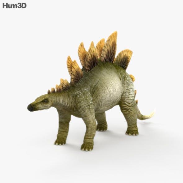 Stegosaurus HD - 3DOcean Item for Sale