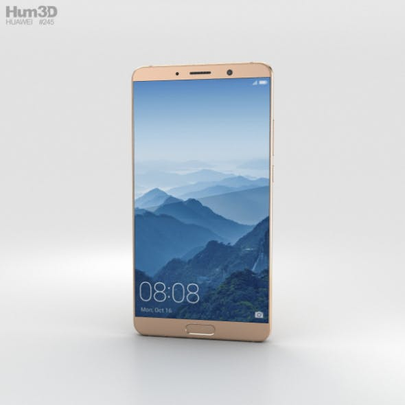 Huawei Mate 10 Mocha Brown - 3DOcean Item for Sale