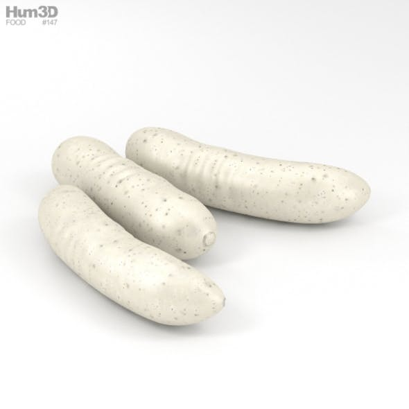 Weisswurst - 3DOcean Item for Sale