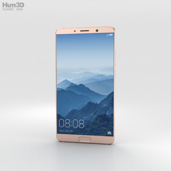 Huawei Mate 10 Pink Gold - 3DOcean Item for Sale