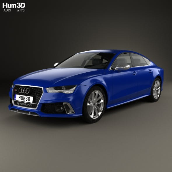 Audi RS7 (4G) Sportback Performance 2015 - 3DOcean Item for Sale