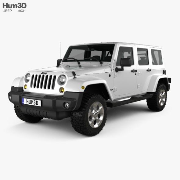 Jeep Wrangler Unlimited Sahara 2012 - 3DOcean Item for Sale