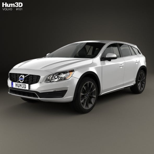 Volvo V60 D4 Cross Country 2015 - 3DOcean Item for Sale