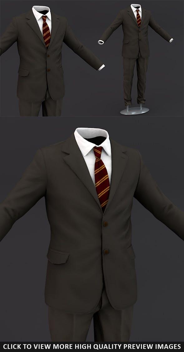Men suit 2 - 3DOcean Item for Sale