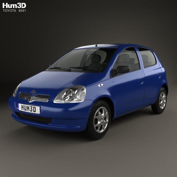 Toyota Yaris 5-door 1999 - 3DOcean Item for Sale