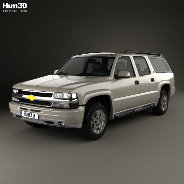 Chevrolet Suburban LT 2005 - 3DOcean Item for Sale