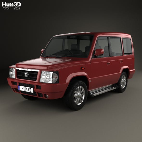 Tata Sumo Gold 2017 - 3DOcean Item for Sale