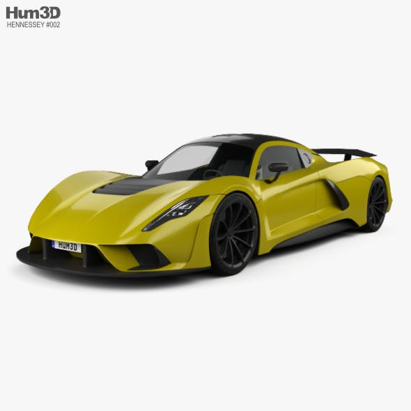 Hennessey Venom F5 2019 - 3DOcean Item for Sale