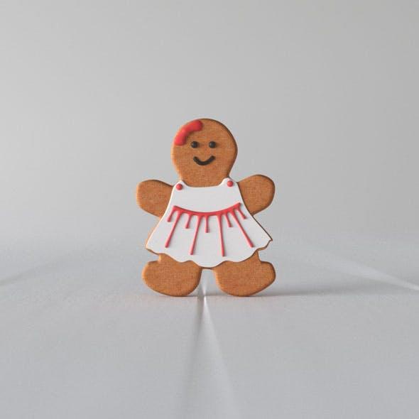 Gingerbread Woman - 3DOcean Item for Sale