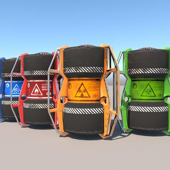 Sci fi barrel