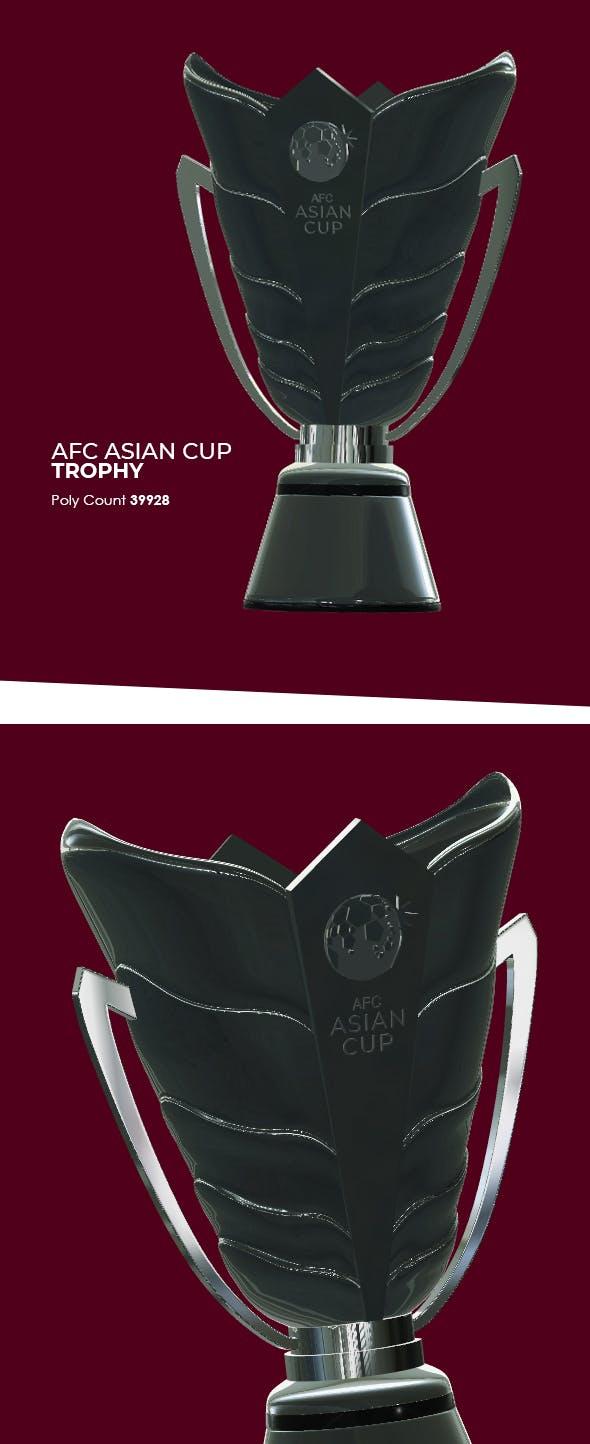 AFC Asian Cup Trophy 3D Model - 3DOcean Item for Sale
