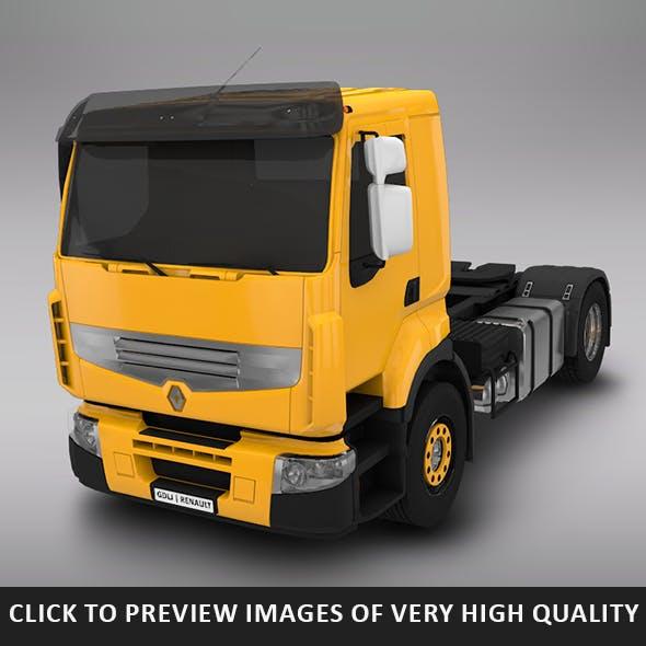 Renault Lander 4x2 Yellow - 3DOcean Item for Sale