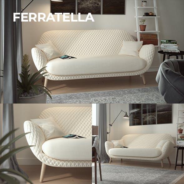 Ferratella Sofa - 3DOcean Item for Sale