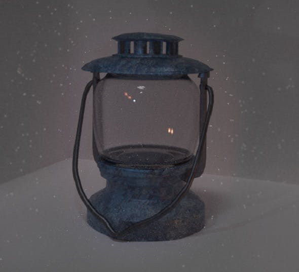 High poly Lamp - 3DOcean Item for Sale