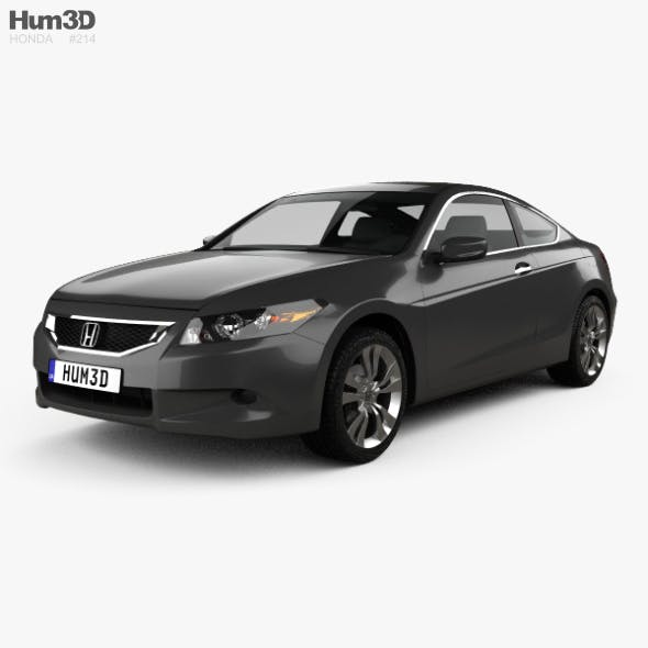 Honda Accord (CS) EX-L coupe 2008