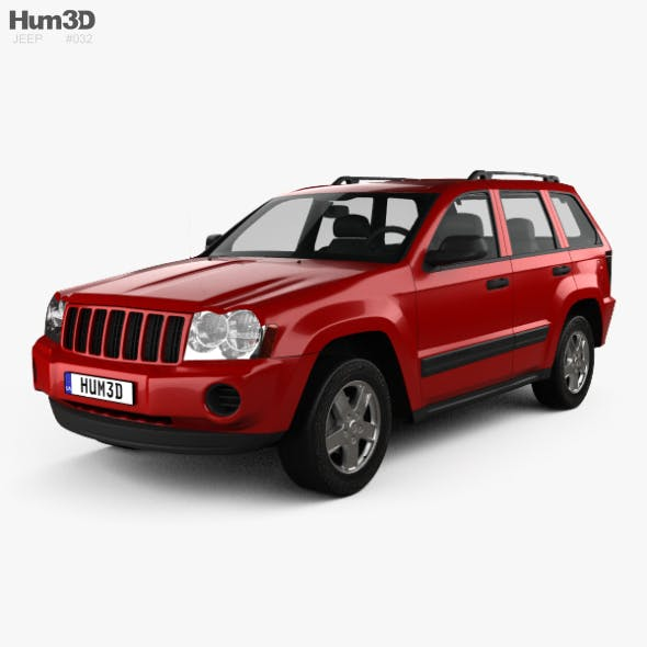 Jeep Grand Cherokee WK Laredo 2005 - 3DOcean Item for Sale