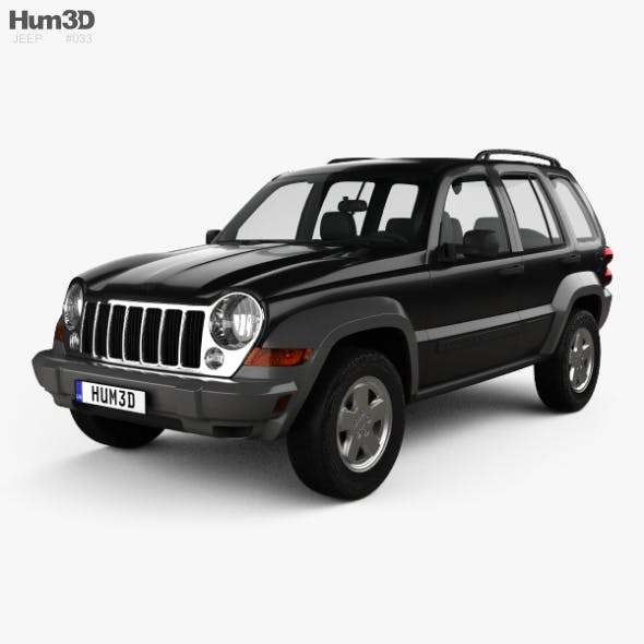 Jeep Liberty KJ Limited 2005 - 3DOcean Item for Sale