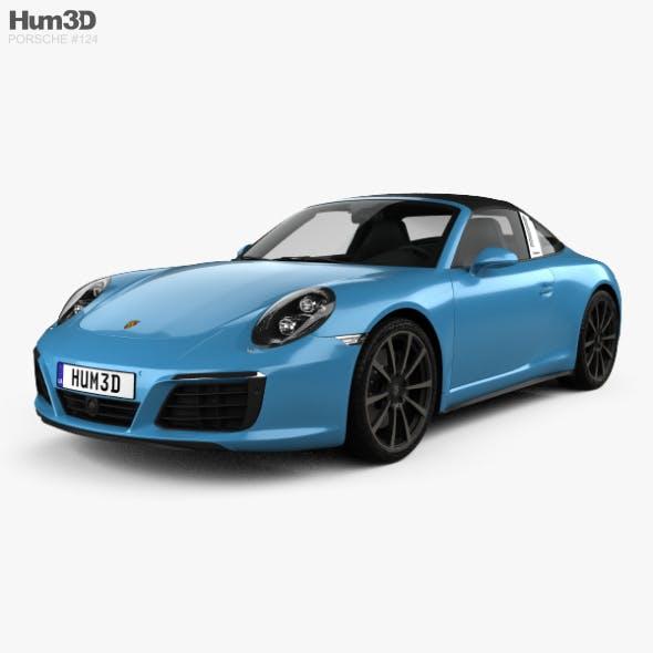 Porsche 911 Targa (991) 4S 2016 - 3DOcean Item for Sale